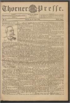 Thorner Presse 1906, Jg. XXIV, Nr. 99 + 1. Beilage, 2. Beilage