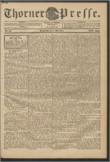 Thorner Presse 1906, Jg. XXIV, Nr. 102 + Beilage
