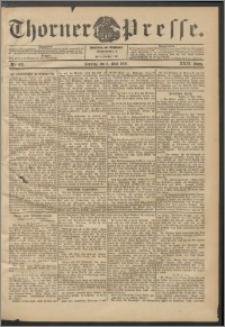 Thorner Presse 1906, Jg. XXIV, Nr. 105 + 1. Beilage, 2. Beilage