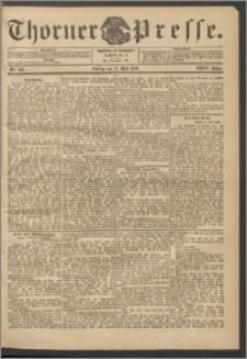 Thorner Presse 1906, Jg. XXIV, Nr. 109 + 1. Beilage, 2. Beilage