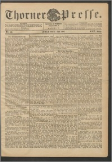 Thorner Presse 1906, Jg. XXIV, Nr. 119 + Beilage