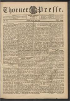 Thorner Presse 1906, Jg. XXIV, Nr. 128 + 1. Beilage, 2. Beilage