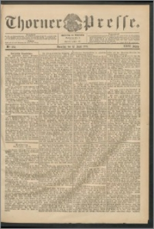 Thorner Presse 1906, Jg. XXIV, Nr. 134 + Beilage