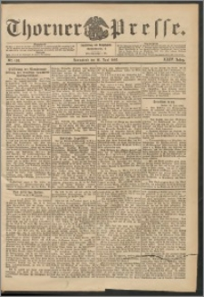 Thorner Presse 1906, Jg. XXIV, Nr. 138 + Beilage