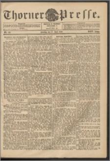 Thorner Presse 1906, Jg. XXIV, Nr. 139 + 1. Beilage, 2. Beilage