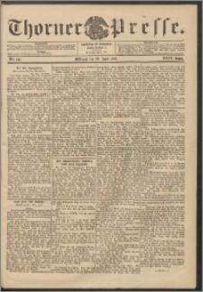 Thorner Presse 1906, Jg. XXIV, Nr. 141 + Beilage