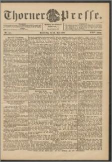 Thorner Presse 1906, Jg. XXIV, Nr. 142 + Beilage