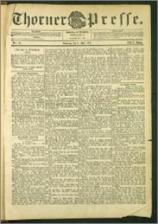 Thorner Presse 1906, Jg. XXIV, Nr. 151 + 1. Beilage, 2. Beilage, 3. Beilage