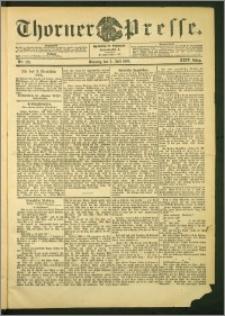 Thorner Presse 1906, Jg. XXIV, Nr. 152 + Beilage, Extrablatt