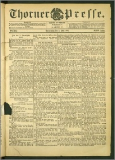 Thorner Presse 1906, Jg. XXIV, Nr. 154 + Beilage