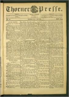 Thorner Presse 1906, Jg. XXIV, Nr. 156 + 1. Beilage, 2. Beilage