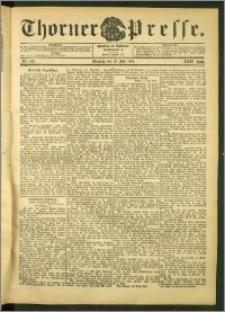 Thorner Presse 1906, Jg. XXIV, Nr. 158 + Beilage