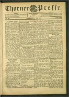 Thorner Presse 1906, Jg. XXIV, Nr. 160 + Beilage
