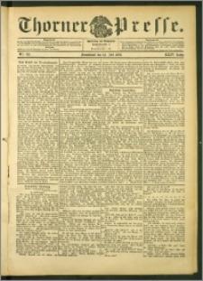 Thorner Presse 1906, Jg. XXIV, Nr. 162 + Beilage