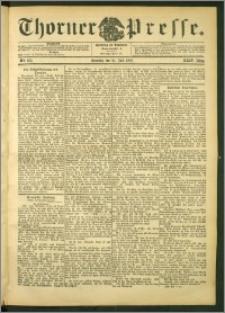 Thorner Presse 1906, Jg. XXIV, Nr. 163 + 1. Beilage, 2. Beilage
