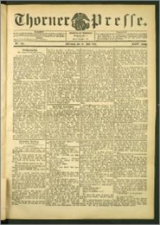 Thorner Presse 1906, Jg. XXIV, Nr. 165 + Beilage