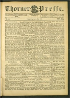 Thorner Presse 1906, Jg. XXIV, Nr. 166 + Beilage
