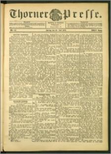 Thorner Presse 1906, Jg. XXIV, Nr. 167 + Beilage