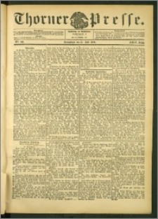 Thorner Presse 1906, Jg. XXIV, Nr. 168 + Beilage