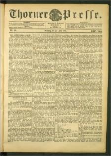 Thorner Presse 1906, Jg. XXIV, Nr. 170 + Beilage