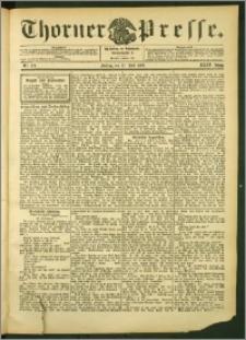 Thorner Presse 1906, Jg. XXIV, Nr. 173 + Beilage