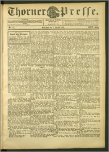 Thorner Presse 1906, Jg. XXIV, Nr. 177 + Beilage