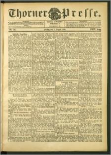 Thorner Presse 1906, Jg. XXIV, Nr. 179 + Beilage