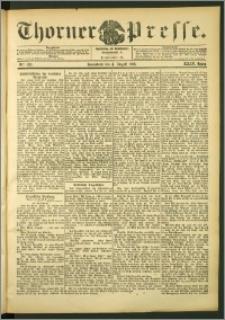 Thorner Presse 1906, Jg. XXIV, Nr. 180 + Beilage