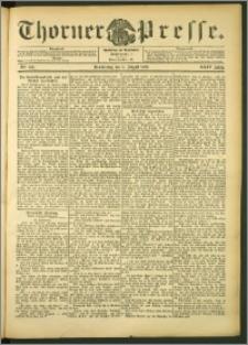 Thorner Presse 1906, Jg. XXIV, Nr. 184 + Beilage