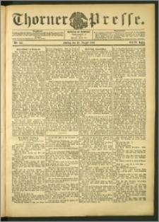Thorner Presse 1906, Jg. XXIV, Nr. 185 + Beilage