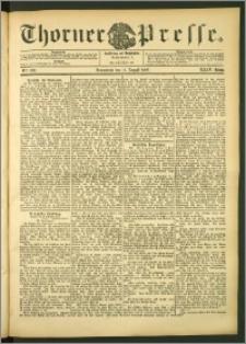 Thorner Presse 1906, Jg. XXIV, Nr. 186 + Beilage