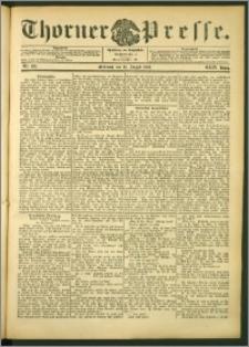 Thorner Presse 1906, Jg. XXIV, Nr. 189 + Beilage