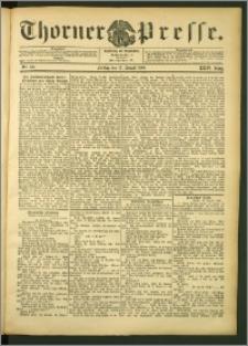 Thorner Presse 1906, Jg. XXIV, Nr. 191 + Beilage