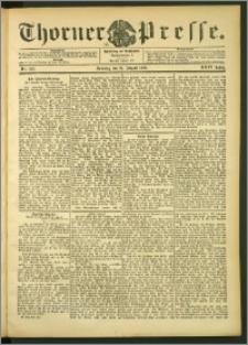 Thorner Presse 1906, Jg. XXIV, Nr. 193 + 1. Beilage, 2. Beilage