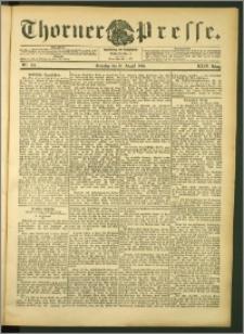 Thorner Presse 1906, Jg. XXIV, Nr. 194 + Beilage
