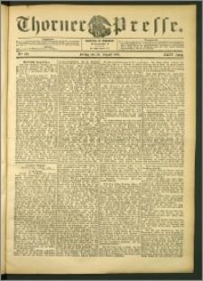 Thorner Presse 1906, Jg. XXIV, Nr. 197 + Beilage