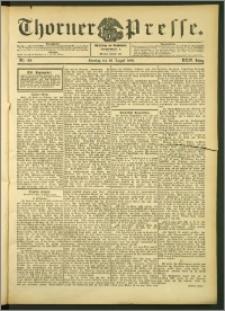Thorner Presse 1906, Jg. XXIV, Nr. 199 + 1. Beilage, 2. Beilage