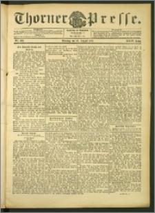 Thorner Presse 1906, Jg. XXIV, Nr. 200 + Beilage