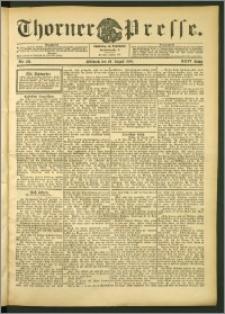 Thorner Presse 1906, Jg. XXIV, Nr. 201 + Beilage
