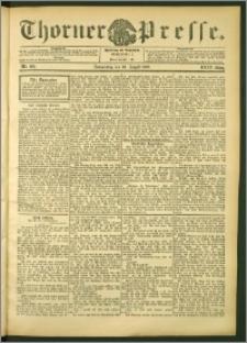 Thorner Presse 1906, Jg. XXIV, Nr. 202 + Beilage