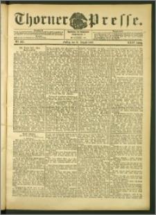 Thorner Presse 1906, Jg. XXIV, Nr. 203 + Beilage