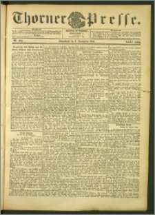 Thorner Presse 1906, Jg. XXIV, Nr. 204 + Beilage