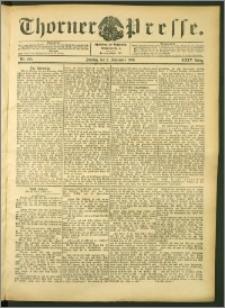 Thorner Presse 1906, Jg. XXIV, Nr. 205 + 1. Beilage, 2. Beilage