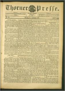 Thorner Presse 1906, Jg. XXIV, Nr. 206 + Beilage
