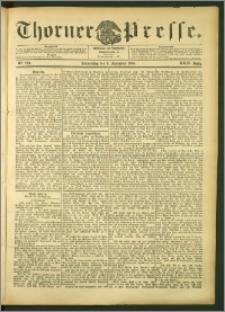 Thorner Presse 1906, Jg. XXIV, Nr. 208 + Beilage