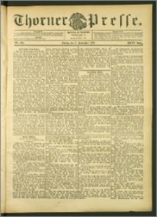 Thorner Presse 1906, Jg. XXIV, Nr. 209 + Beilage