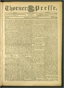 Thorner Presse 1906, Jg. XXIV, Nr. 211 + 1. Beilage, 2. Beilage