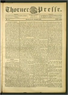 Thorner Presse 1906, Jg. XXIV, Nr. 212 + Beilage