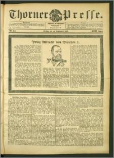 Thorner Presse 1906, Jg. XXIV, Nr. 215 + Beilage