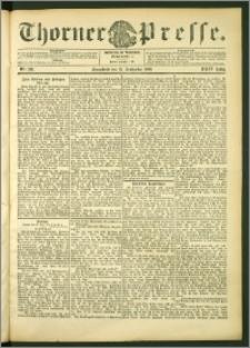 Thorner Presse 1906, Jg. XXIV, Nr. 216 + Beilage